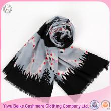 Роскошные мода новый стиль горошек печатных шарф для зимы