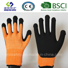 Nitrile Coating, Sandy Finish Safety Work Gloves (SL-NS118)