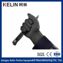 Cutting Defense Anti Cutting Guantes de malla de acero inoxidable (KL-008G)