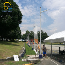 60w Integrated All In One Solar street lights