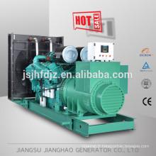 Groupe électrogène diesel 1100KW 1250KVA fabriqué en Chine avec moteur CUMMINS