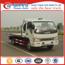 JAC 4ton flat bed tow truck para la venta