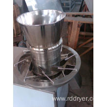 The tea particles Rotary granulator