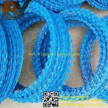 Alambre de púas de PVC