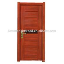 Puerta de madera de la melamina del estilo abierto del oscilación de la moda