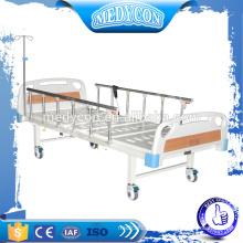 Aluminium Krankenhaus elektrische 2 Funktionen Bett, mit 5''Bohren