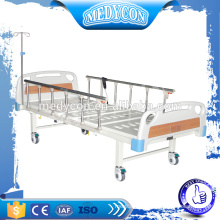 Aluminium hospital electric 2 functions bed,with 5''castors