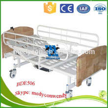 2 Functions wooden headboard electric hospital patient beds