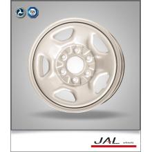 Ruedas de coche personalizadas de los bordes del acero del nuevo diseño en 6.5x16