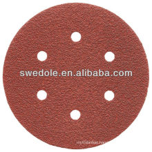 115mm aluminum oxide sanding paper disc for grinding or polishing