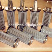OEM ,Sintered Melt Filter Cartridge, Polypropylene fiber industry melt filter element