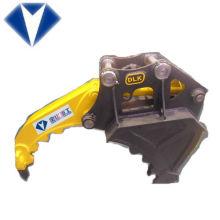 BOBCAT Excavadora montado cubo de agarre, cucharón de grapa para excavadora
