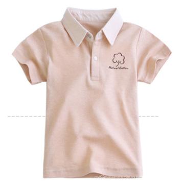 Camiseta 100% algodón color natural para bebés