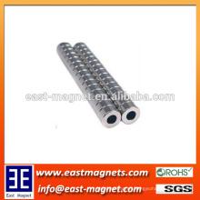 Rare Earth Ring Permanent Sintered Neodymium Magnet for Speaker