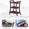 classical wooden facial beauty salon tool cart trolley
