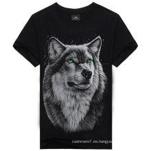 Moda personalizada 3D que imprime la camiseta / la camiseta / la camiseta baratas del algodón