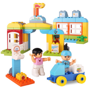 Plastic Building Blocks Toys for Preschool Kids