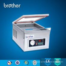 Máquina de embalagem do vácuo do tampo da mesa do irmão, aferidor do vácuo do alimento, máquina da selagem do vácuo do arroz