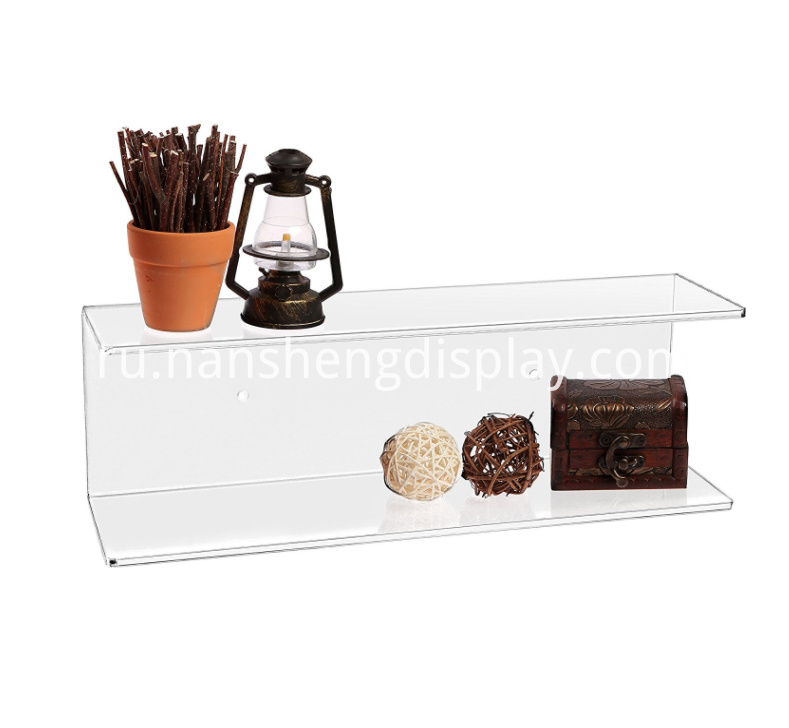 Clear Wall Mounted Acrylic Display