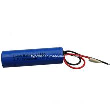 3.7V 2200mAh 18650 Lithium Ion Battery Pack (1S of FLC-18650-2200)