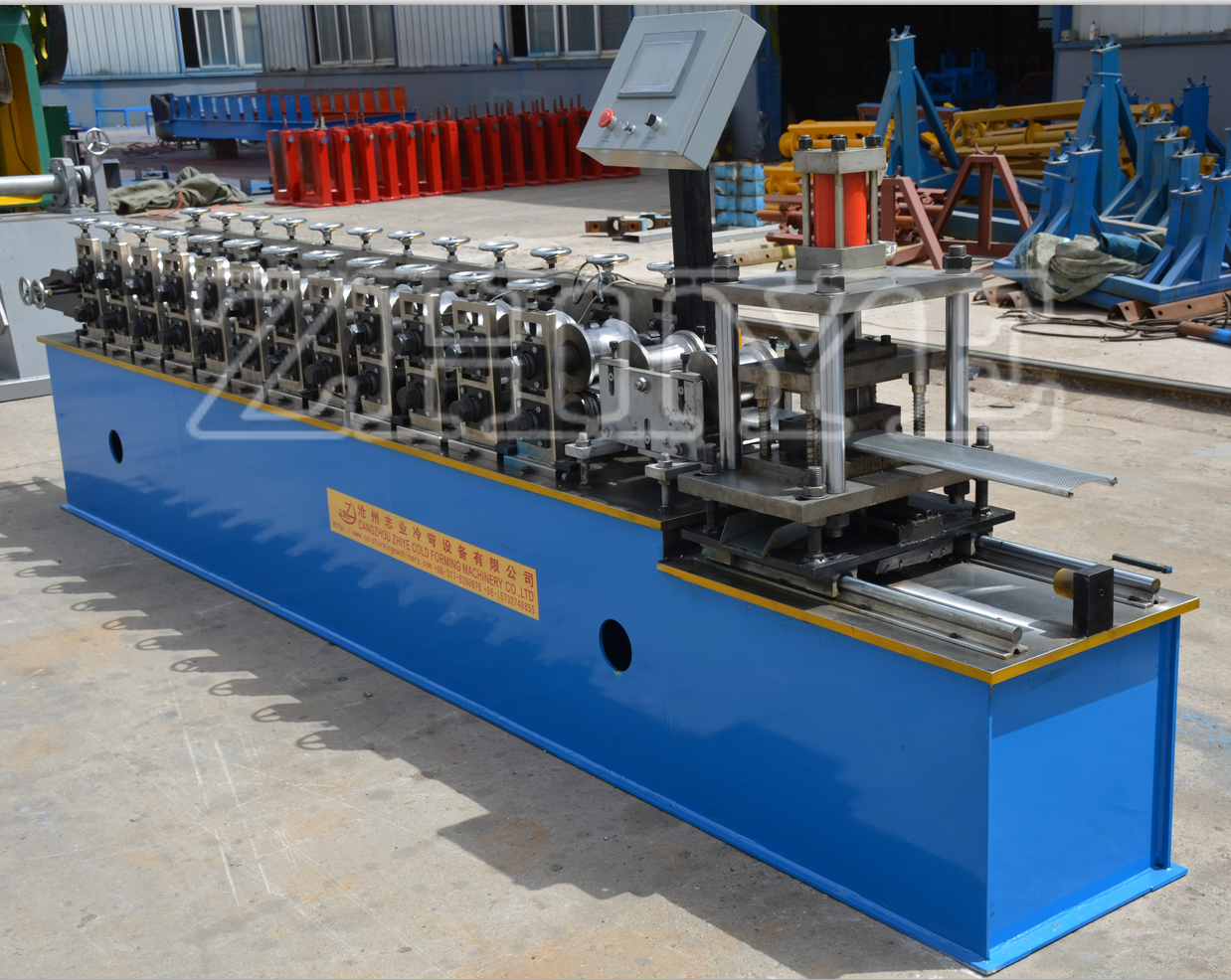 auto shuttering door machinery