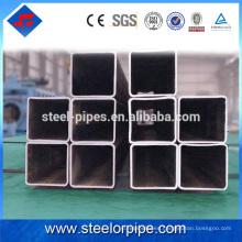 Tubos de acero cuadrado de la sección hueca para la pipa de la estructura