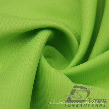 Resistente al agua y al aire libre ropa deportiva al aire libre Chaqueta de tela tejida doble franja Jacquard tela 100% poliéster Pongee (E052)