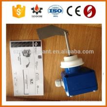 Transmisor de nivel de radar de onda guiada automática con indicador de nivel y salida 4-20mA midiendo el líquido y el sólido fabricados en china