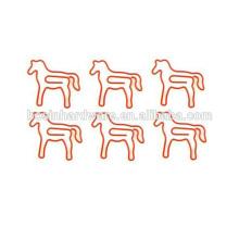 Mode de haute qualité en métal en forme de cheval en forme de clips