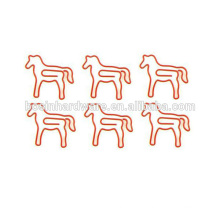 Fashion High Quality Metal Horse Shaped Paper Clips