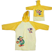 Baju hujan Pvc kuning anak-anak