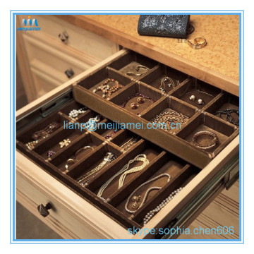 Cheap price for Jewelry Trays Wardrobe drawer jewelry tray supply to Portugal Manufacturer