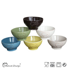VARIOUS COLOR CERAMIC STONEWARE BOWL