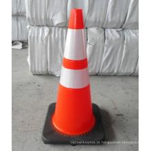 Venda quente refletivo segurança tráfego Cone
