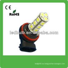 H8 18 SMD 5050 12V auto led lámparas de cabeza