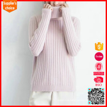 New fashion womens cashmere turtleneck pink cashmere sweaters on sale