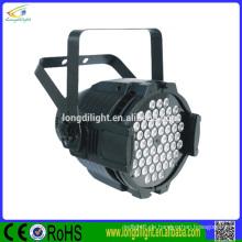 China besten Preis dmx führte par kann 54x3w rgbw par 64 führte par Licht