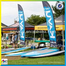 Comercio de alta calidad cusotm material de banner al aire libre y banner promocional al aire libre