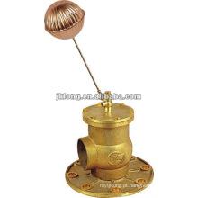 00902 Válvula de esfera flutuante de bronze com flange