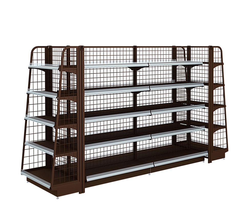 Double-Sided Display Shelf