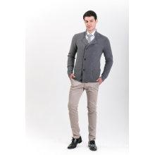 Men′s Fashion Cashmere Blend Sweater 18brssm007