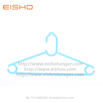 EISHO Colorful Mini Plastic Kids Hangers Azul