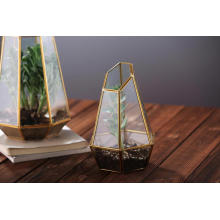 Hot Selling Indoor Plant Glass Terrarium Geometric