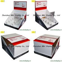 Pantalla de cartón barata, cuadro PDQ, caja de regalo, PDQ caja de presentación con SGS (B & C-D048)