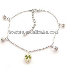 Ireland Shamrock four leaf clover bracelet jewelry