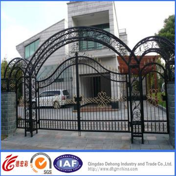 Galvanized High Quality Elegant Wrought Iron Safety Gate