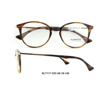 2017 unisex round shape combination stripe eyeglasses optical frame eyewear