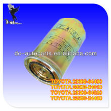 Filtro Toyota 23303-64010,23303-64020,23390-64480 Combustible para Toyota CAMRY, COROLLA, PICKUP, TOYOTA FORKLIFTS, TOYOAT DIESIEL ENGINE