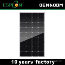 Panneaux solaires 12V mono 100W pour la maison Moyen-Orient, Sud-est, marché de l'Afrique
