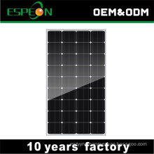 12V mono 100W solar panels for home Middle East, South East , Africa market